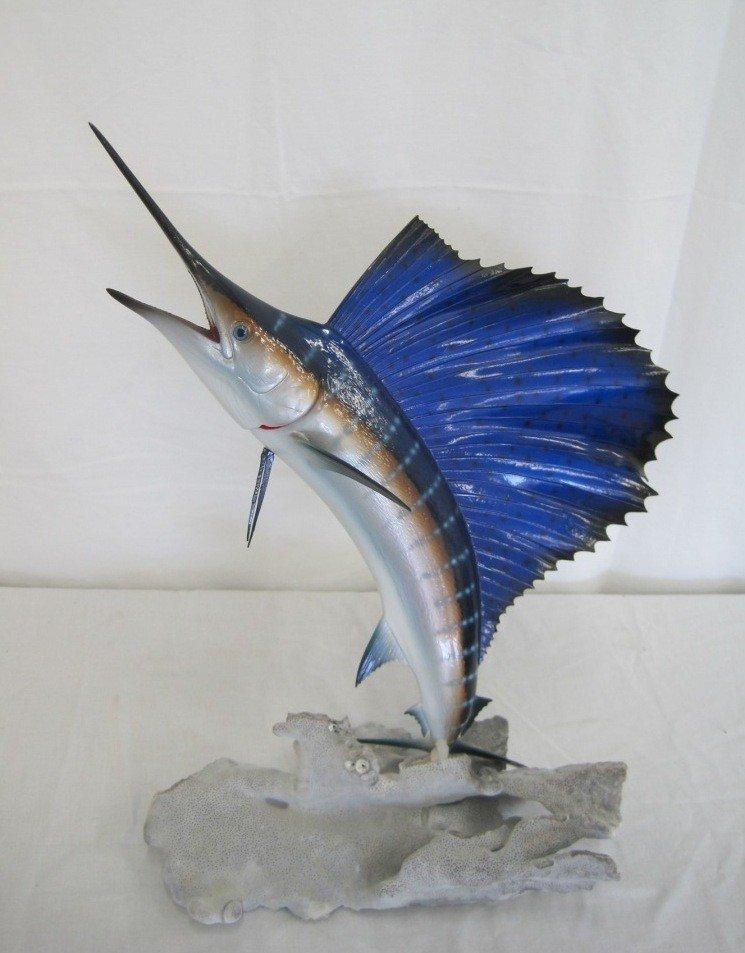 15: Marlin Sculpture