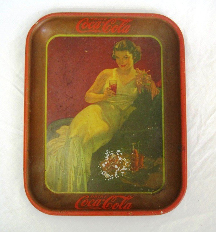 19: Orginal 1936 Coca Cola Tray