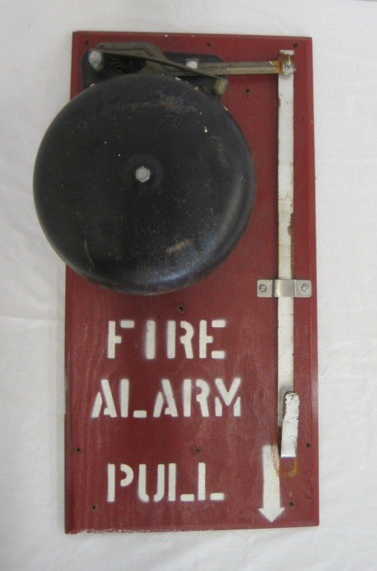 21: 1950's Fire Alarm Bell