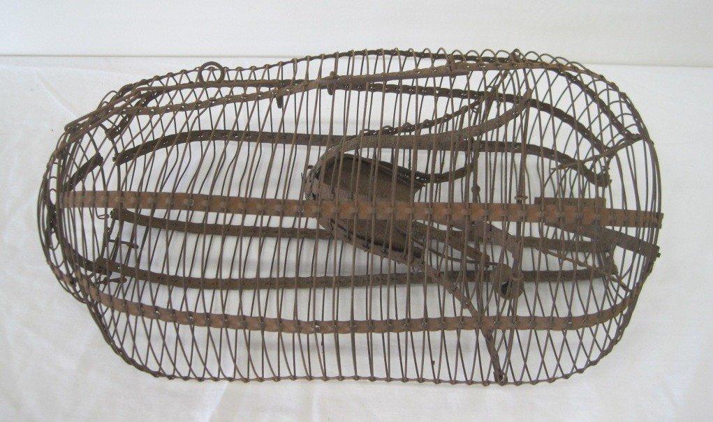 22: Antique Cage Rat Trap