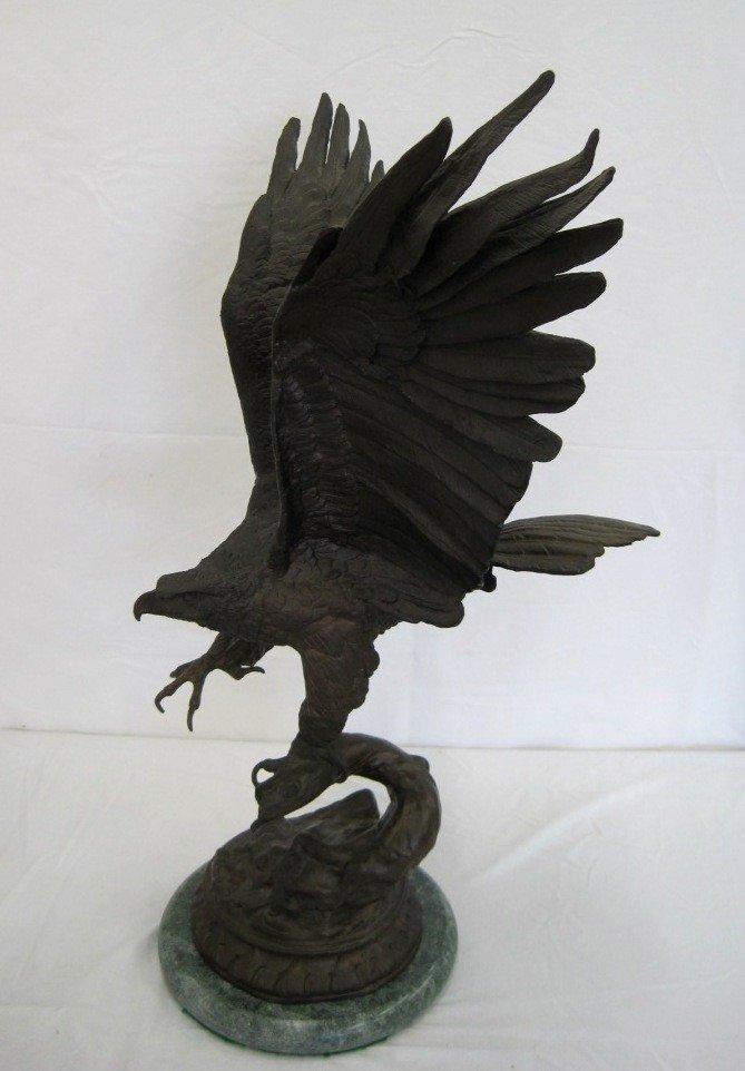 154: Jules Moigniez Bronze Eagle * Aigle Perche *
