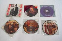 283 20 LPs  45s Picture Disc Albums