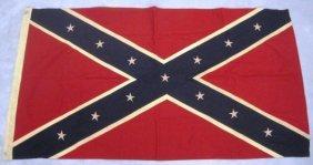 "20: CONFEDERATE FLAG 30"" x 57"""