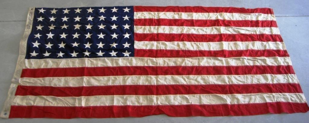 21: 48 STAR AMERICAN FLAG