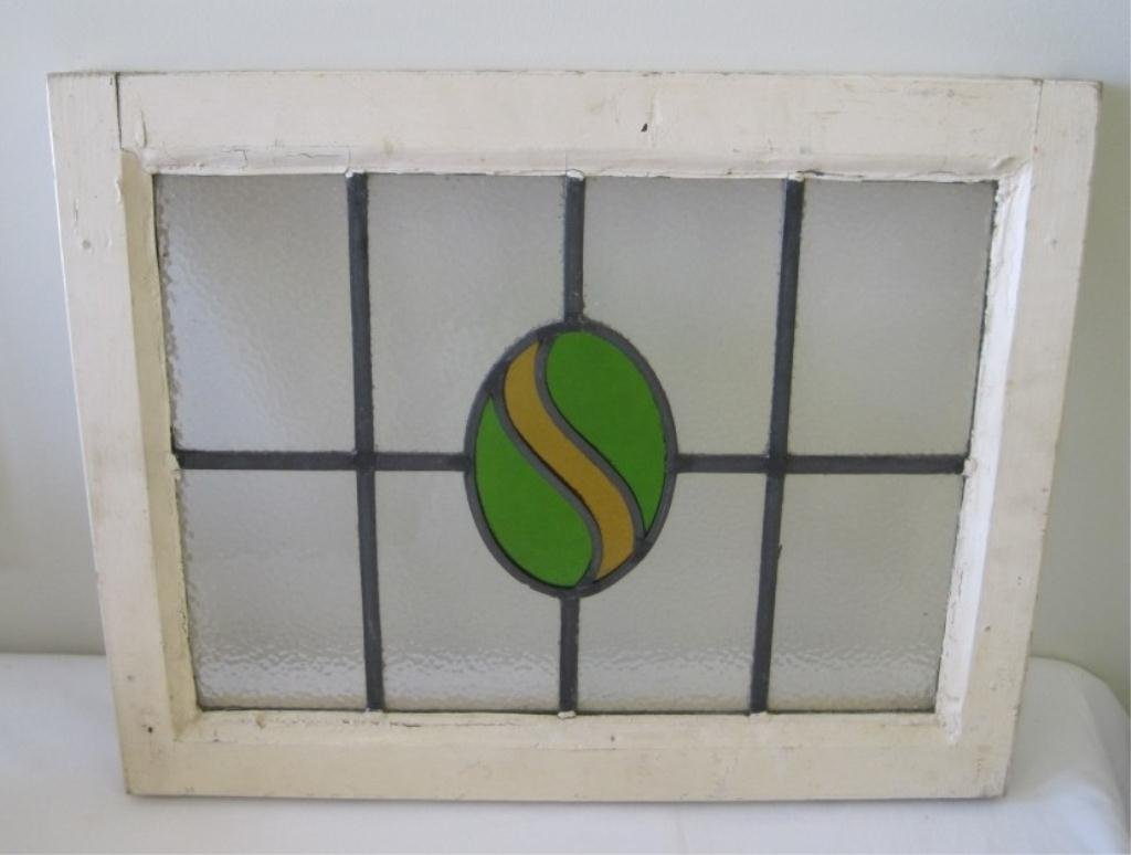 101: STAINED GLASS WINDOW