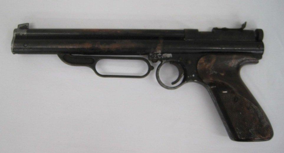 111: CROSMAN 22 PELLET GUN