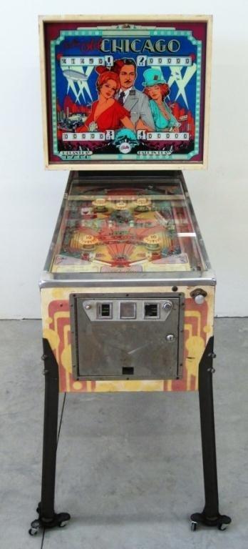 210: BALLY OLD CHICAGO PINBALL MACHINE