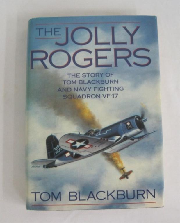 6: THE JOLLY ROGERS - TOM BLACKBURN SIGNED 1ST ED