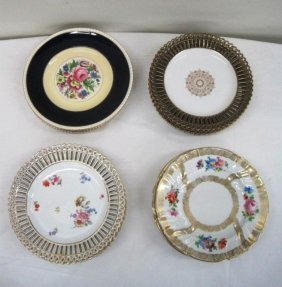 ASSORTED ANTIQUE PLATES
