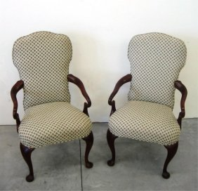 (2) DREXEL ARM CHAIRS