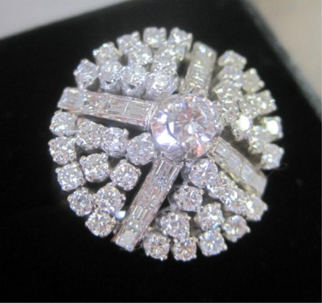 98: 18KT 2.76 CARAT DIAMOND RING