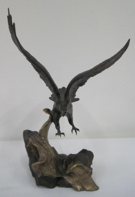 WINGS OF GLORY BRONZE EAGLE