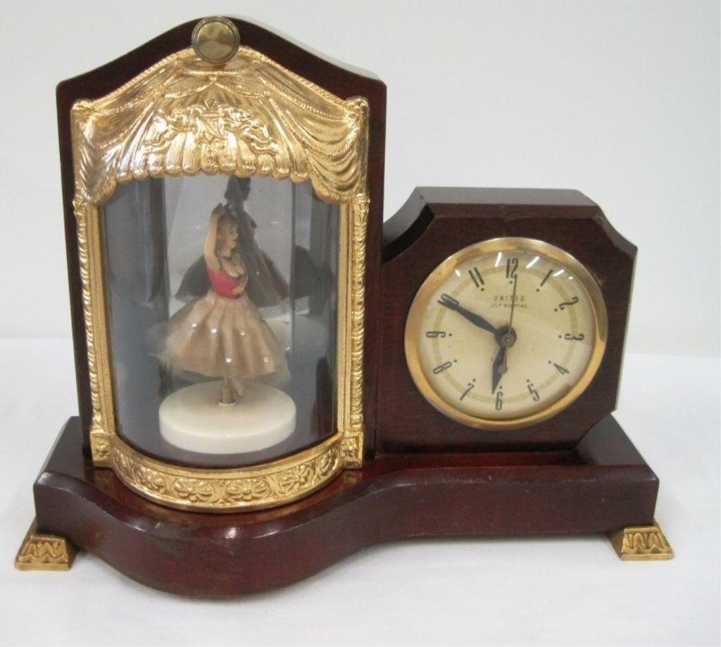 UNITED BALLERINA MUSCIAL MOTION CLOCK