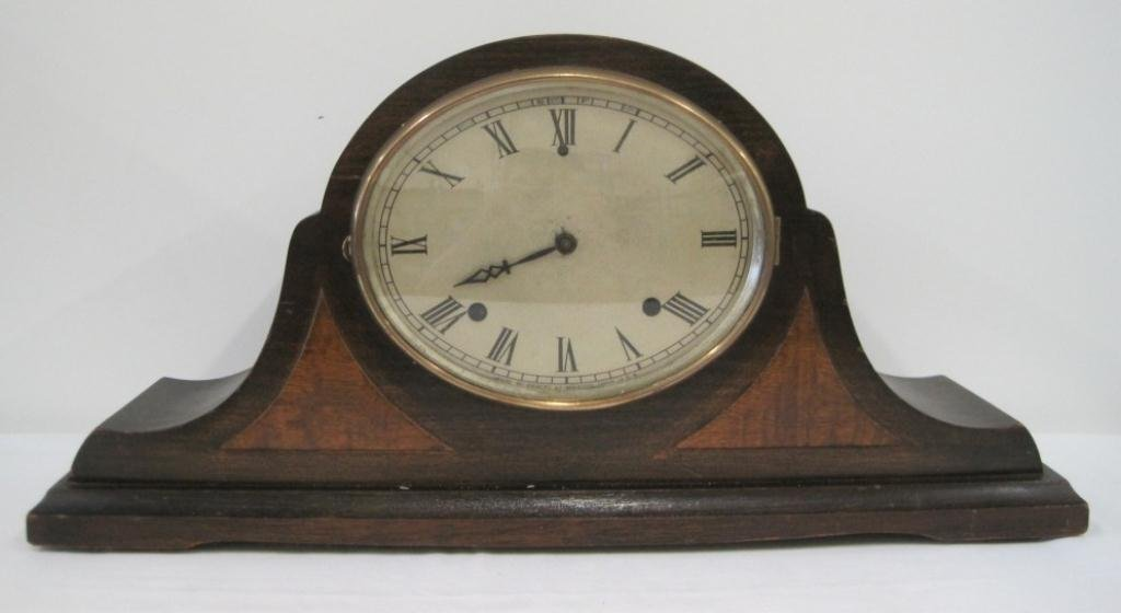 GILBERT OVAL FACE MANTLE CLOCK