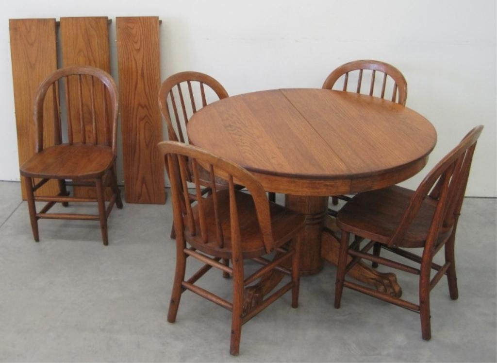 HEYWOOD WAKEFIELD CHAIRS & TABLE