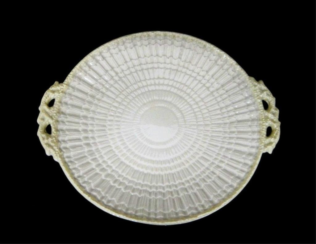 BELLEEK LIMPET CAKE COOKIE PLATTER PLATE  - 5th MARK