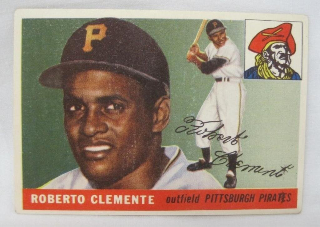1955 TOPPS ROBERTO CLEMENTE BASEBALL CARD