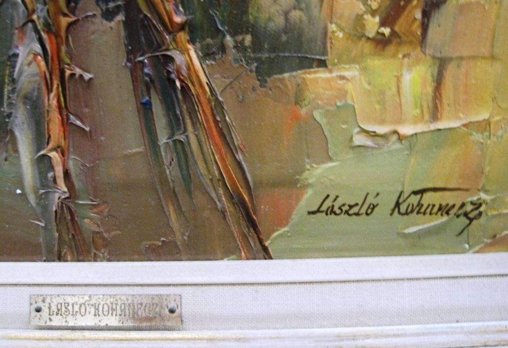 LASZLO KOHANECZ ACRYLIC PAINTING - 3