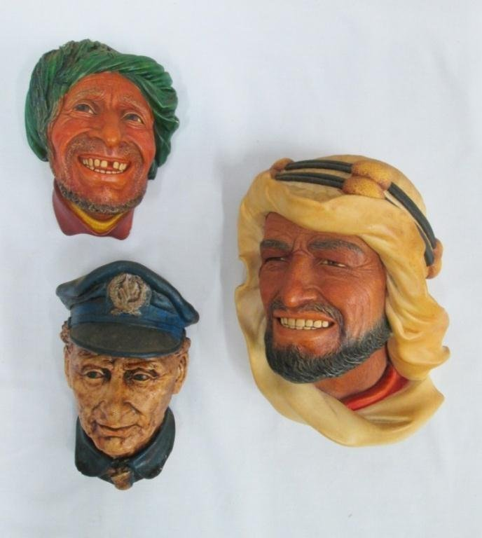 (3) BOSSONS HEADS