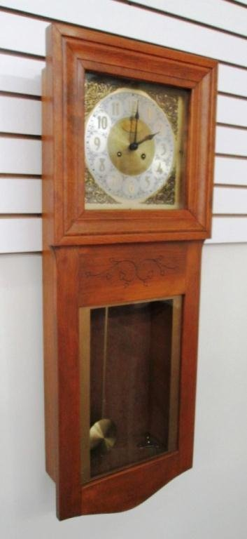 VINTAGE GERMAN WALL CLOCK