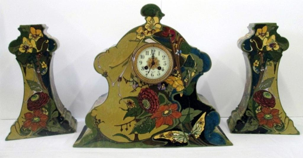 ROZENBURG PORCELAIN CLOCK