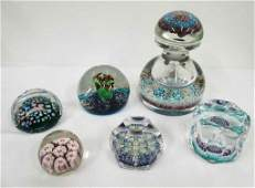 ART GLASS PAPERWEIGHTS