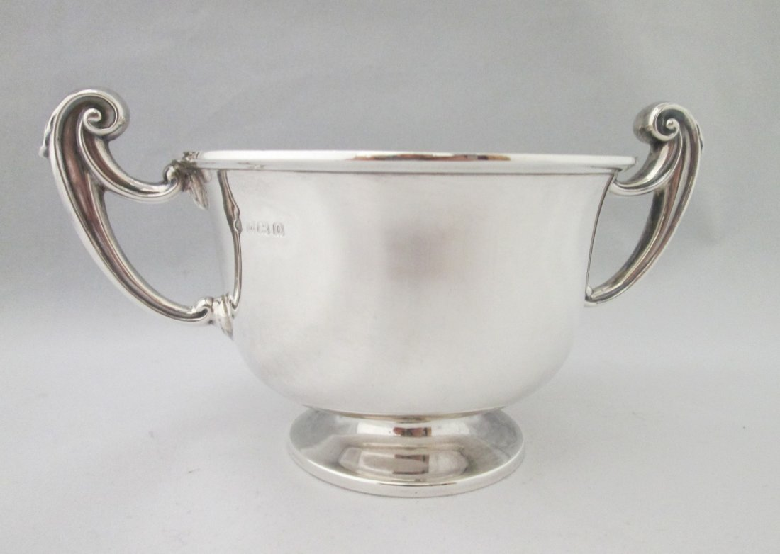 STERLING SILVER DOUBLE HANDLED CUP