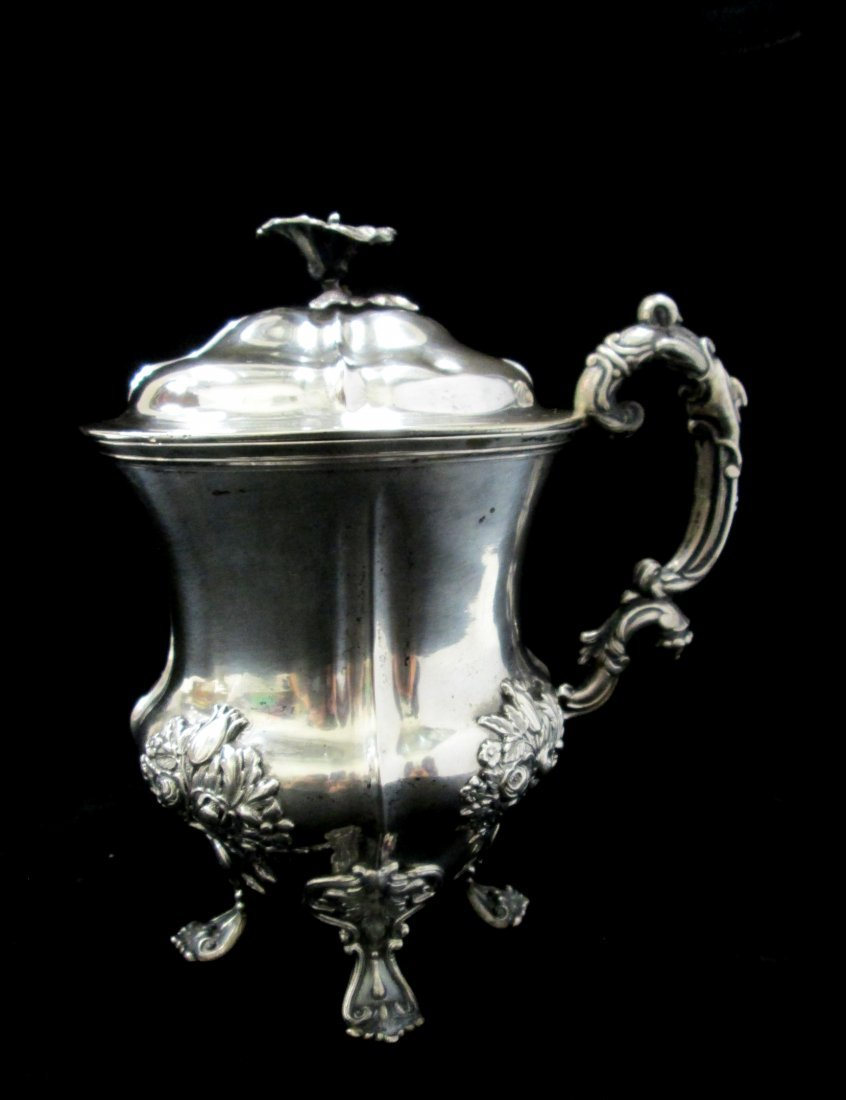 19TH CENTURY RUSSIAN IMPERIAL LIDDED CUP