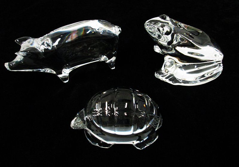 BACCARAT CRYSTAL FIGURINES