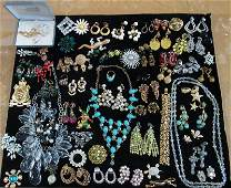 VINTAGE DESIGNER COSTUME JEWELRY LOT