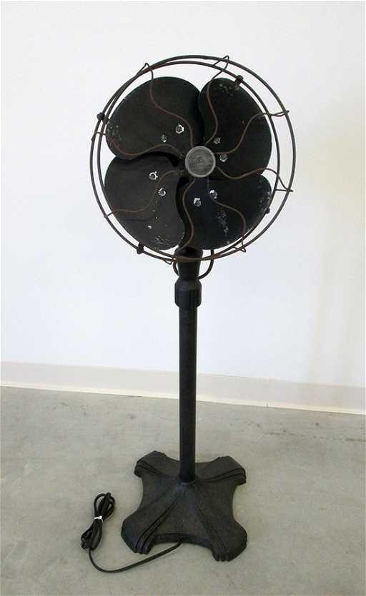 Antique Oscillating Emerson Pedestal Fan