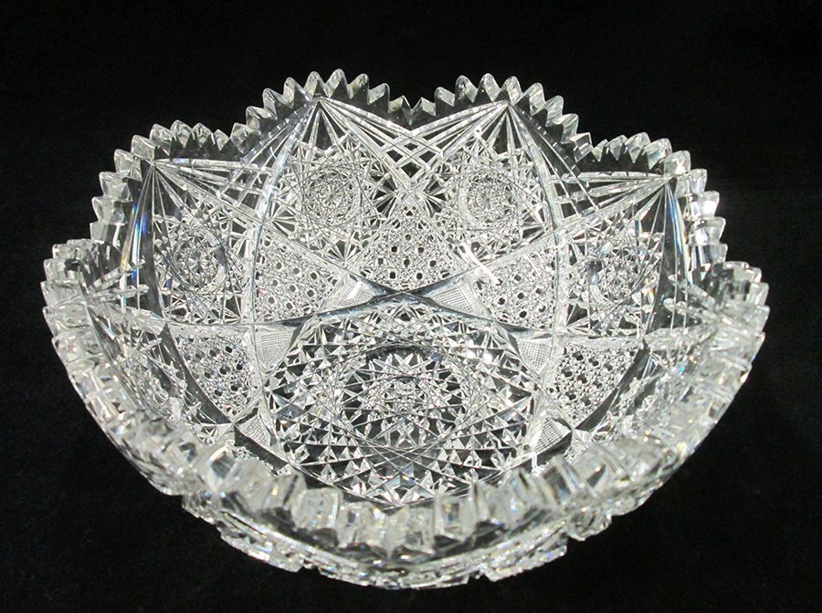 ABP CUT GLASS BOWL