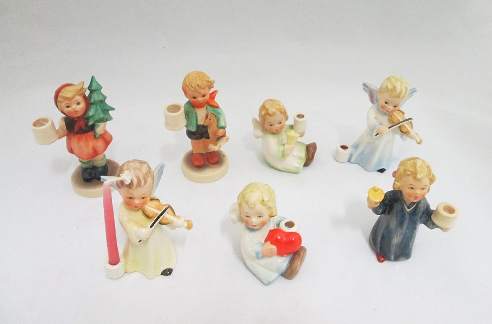 (7) HUMMEL FIGURINES