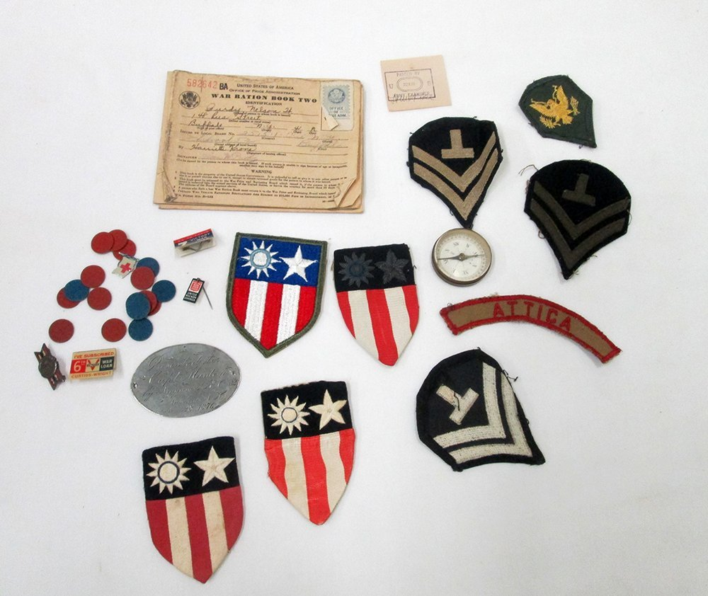 MILITARY PATCHES, PINS & MORE