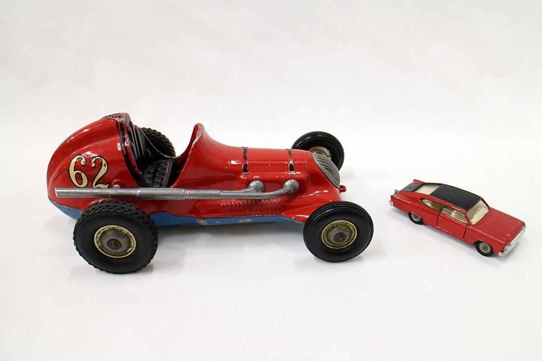 VINTAGE THIMBLE DROME & CORGI CARS