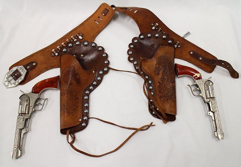 HUBLEY PIONEER CAP GUNS