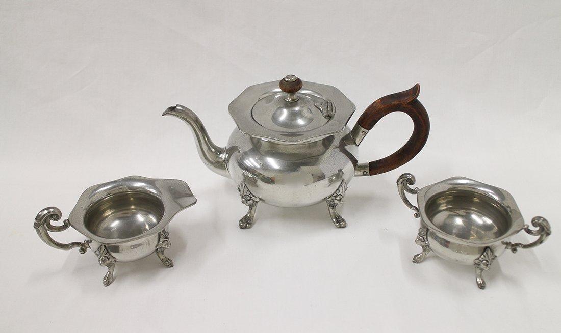 REED & BARTON PEWTER TEA SET