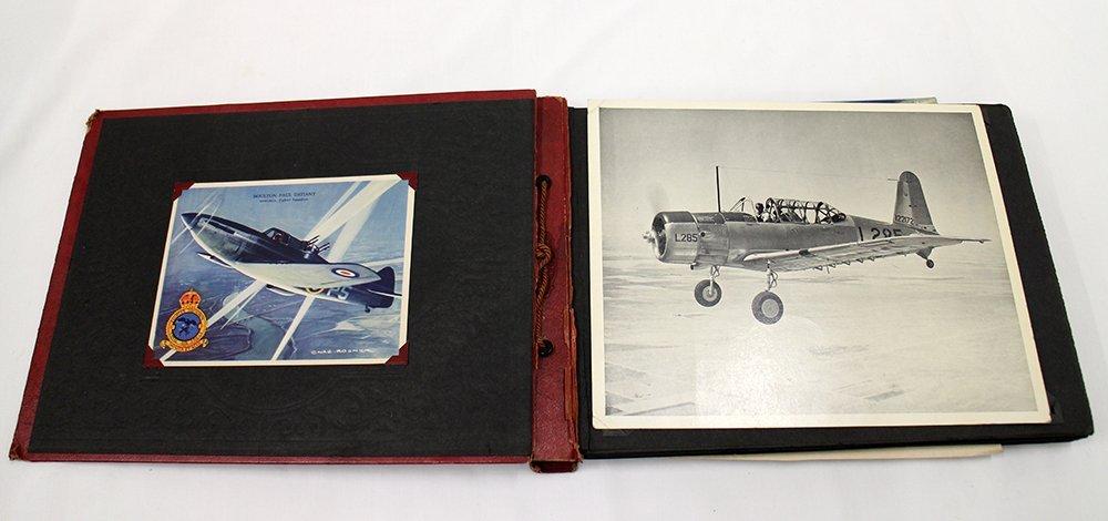 WWII GERMAN BRITISH US AIRCRAFT PHOTO ALBUM