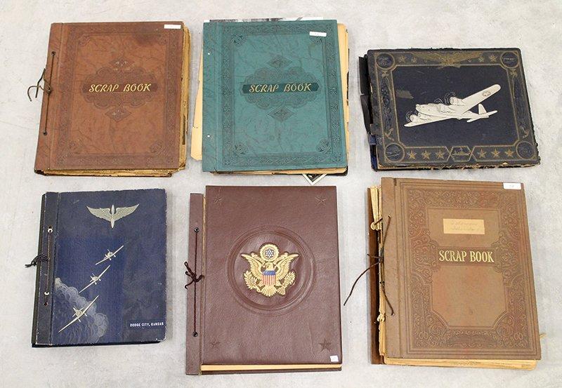 WWII SCRAP BOOKS & PHOTOGRAPHS
