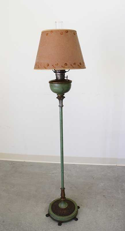Antique Aladdin Floor Lamp