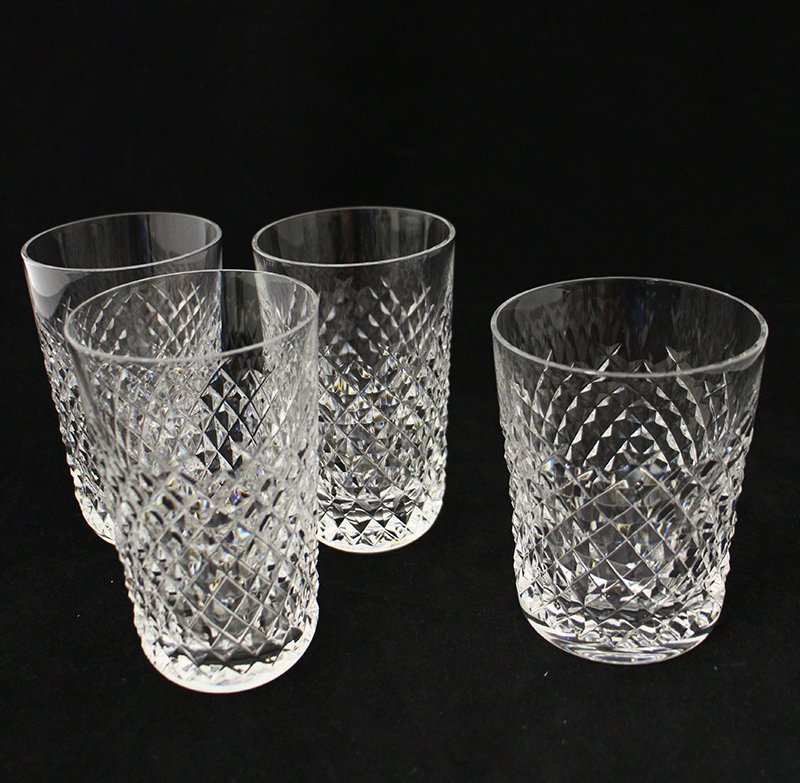 (4) WATERFORD CRYSTAL GLASSES