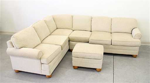 Miles Talbott Sectional Sofa See Sold Price