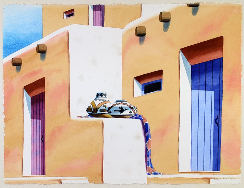 ROBERT PARKISON SOUTHWESTERN WATERCOLOR