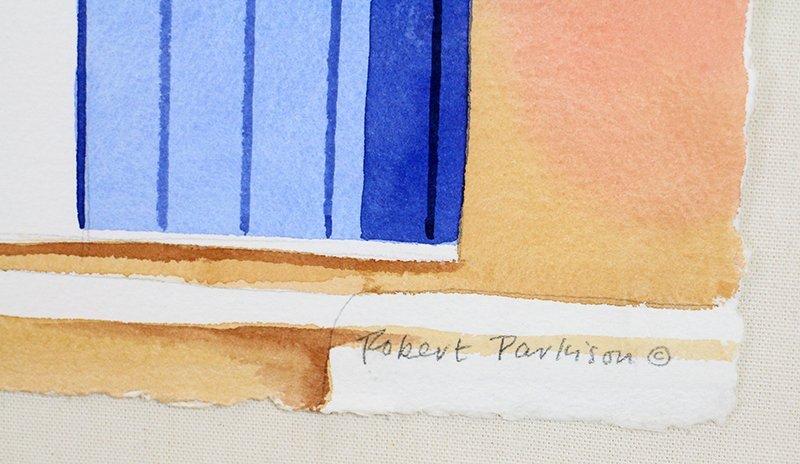 ROBERT PARKISON SOUTHWESTERN WATERCOLOR - 2
