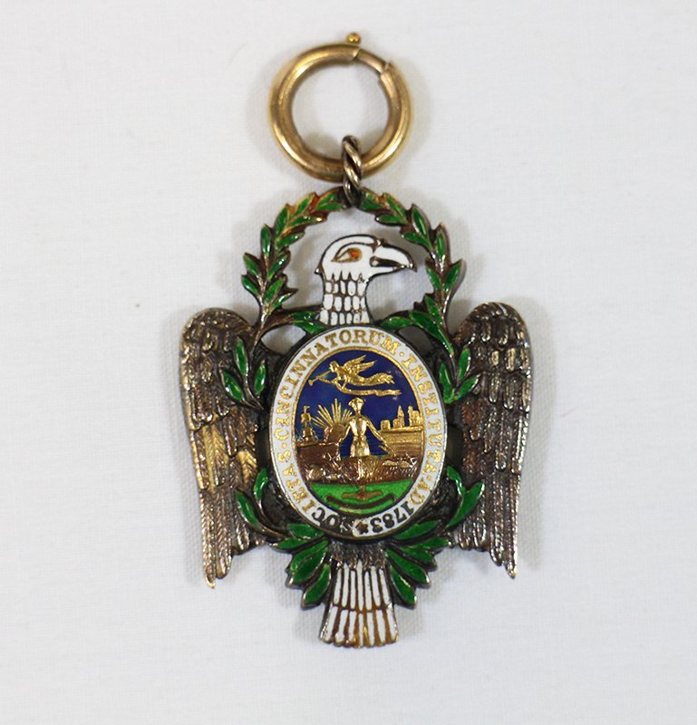 SOCIETY OF CINCINNATI EAGLE INSIGNIA MEDAL
