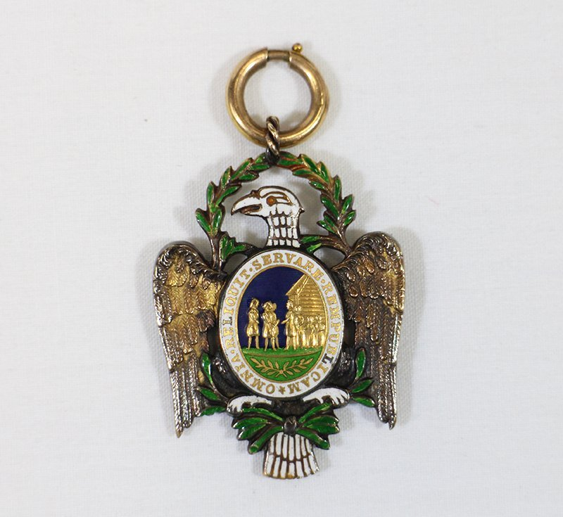 SOCIETY OF CINCINNATI EAGLE INSIGNIA MEDAL - 2