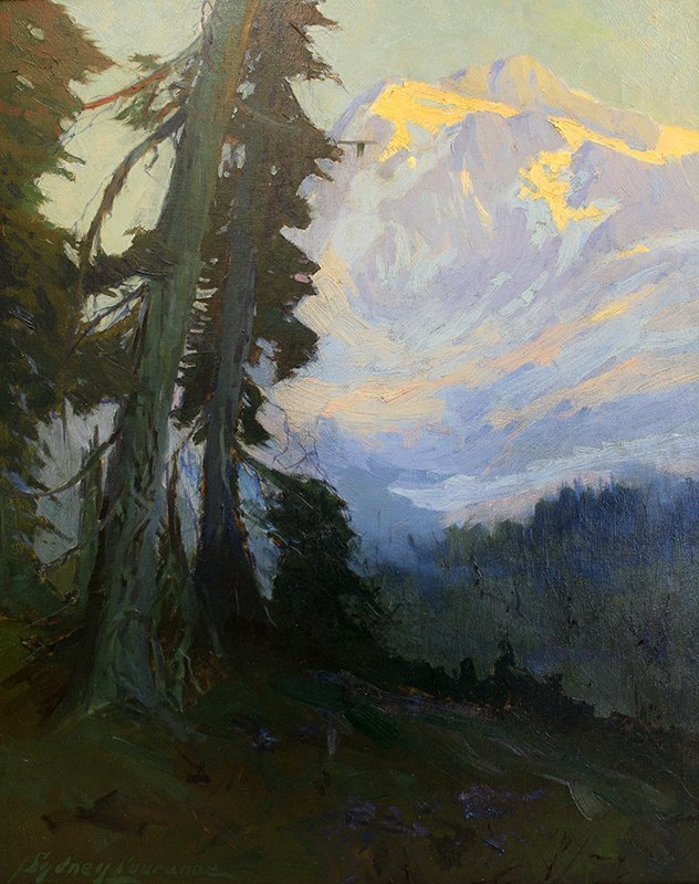 SYDNEY LAURENCE MOUNTAIN LANDSCAPE PAINTING
