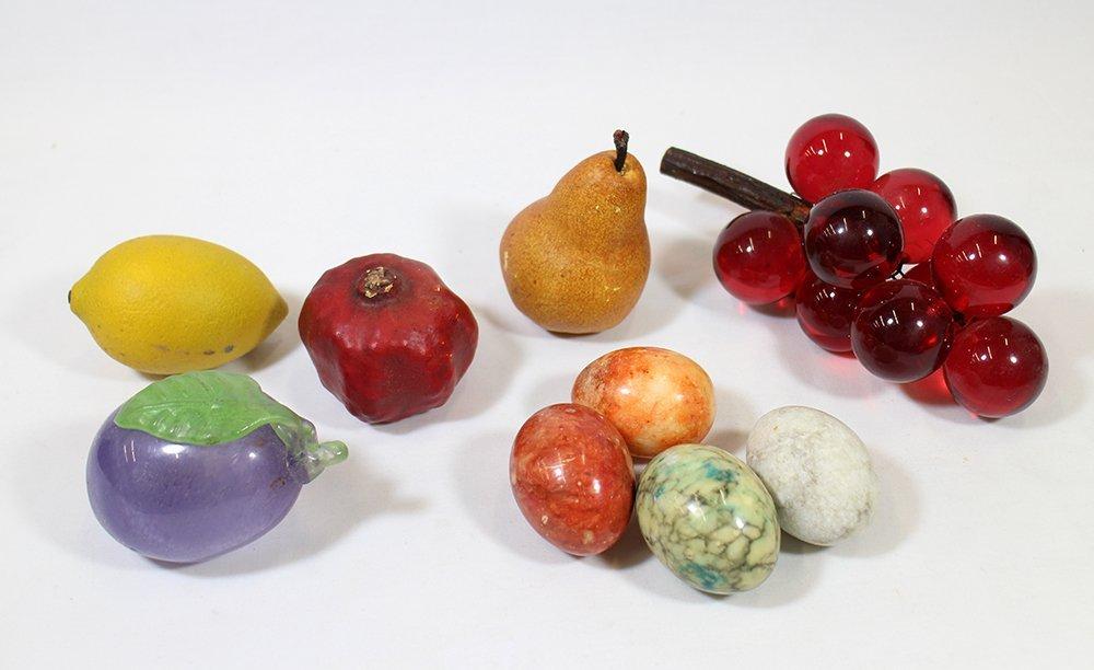 MARBLE EGGS & DECORATIVE FRUIT