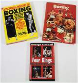 (3) BOXING BOOKS