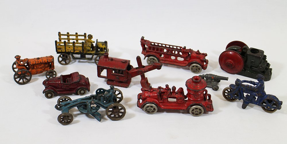 CAST IRON TOY COLLECTION